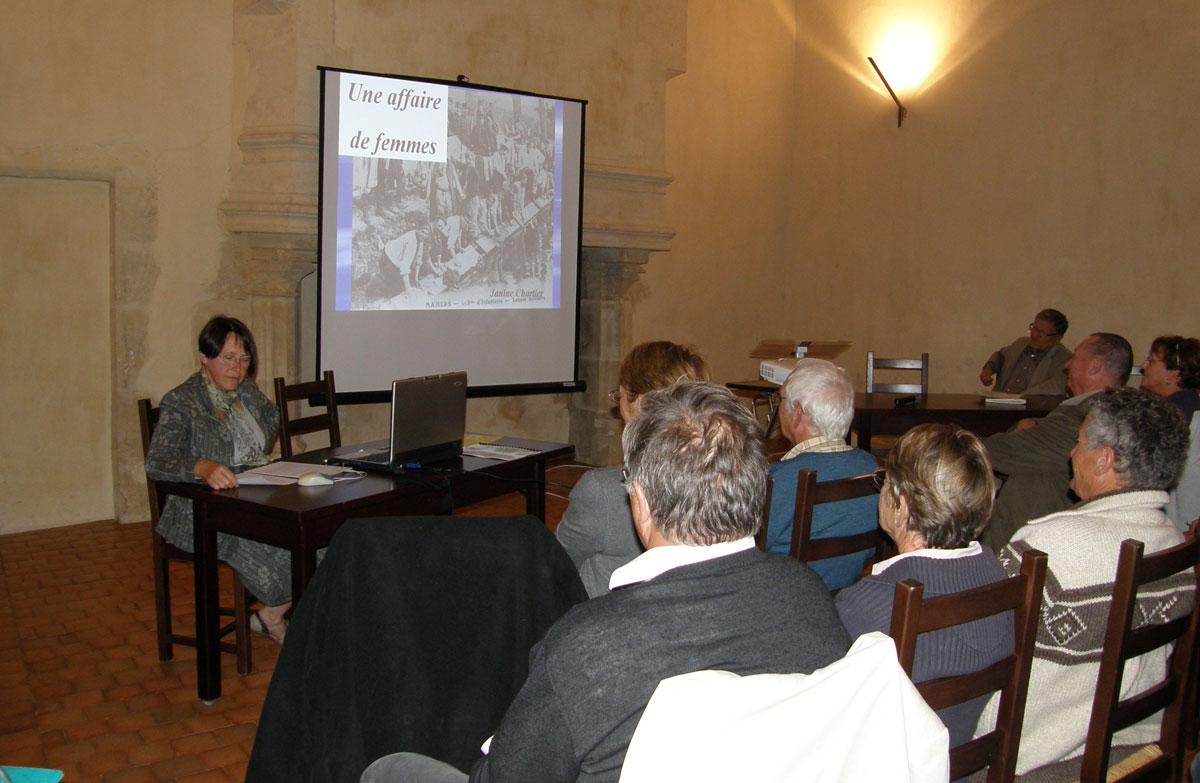 Conférence : «La buée , une affaire de femmes»