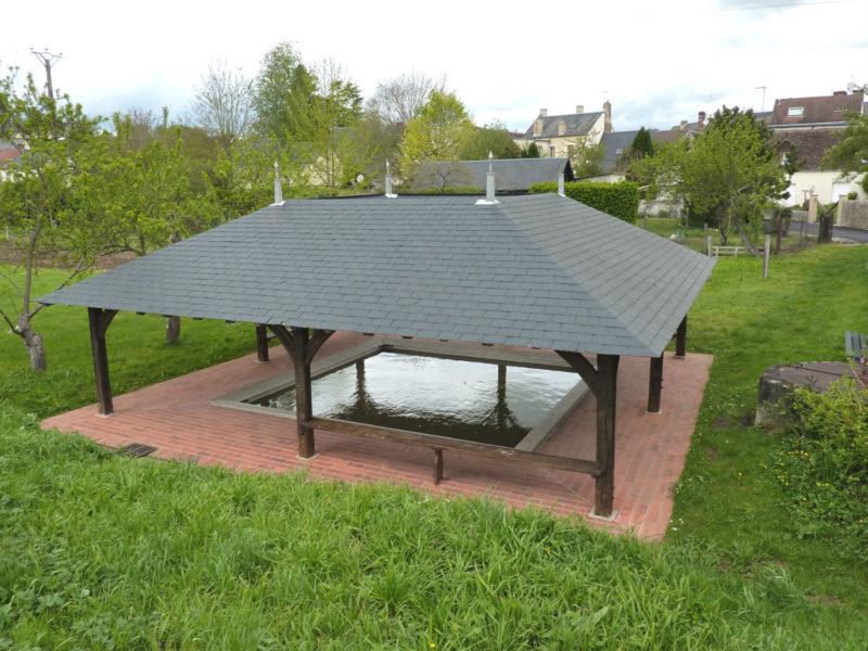 Restauration du lavoir de Poncé-sur-Loir