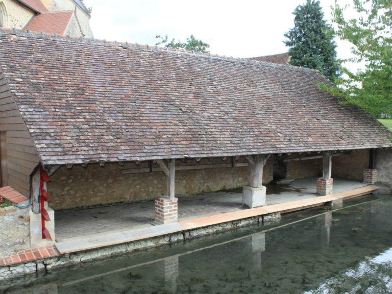 Restauration du lavoir de Cormes
