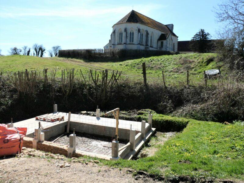 La réhabilitation du lavoir de Vaux-le-Bardoult dans l'Orne